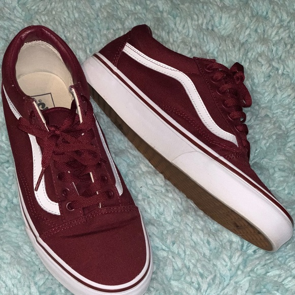 Vans Other - Vans (color:Burgundy/Maroon)